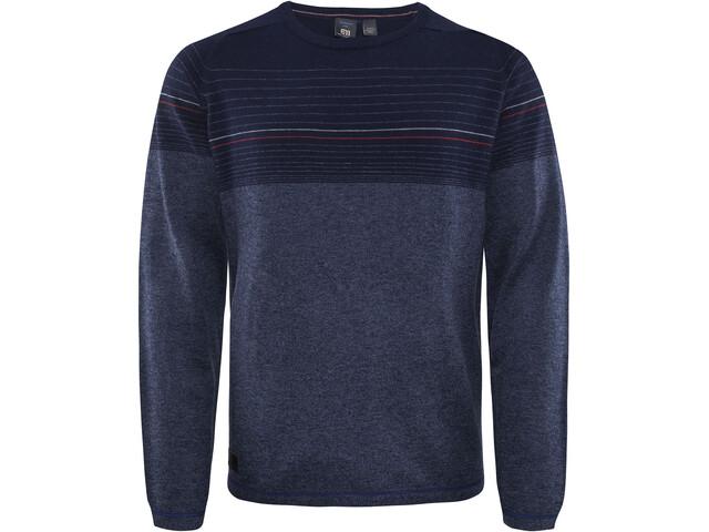 Elevenate M's Line Merino Pullover Twilight Blue